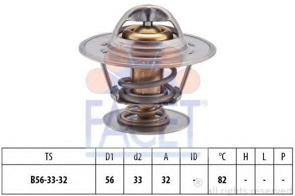 Термостат, охлаждающая жидкость FACET 78225S