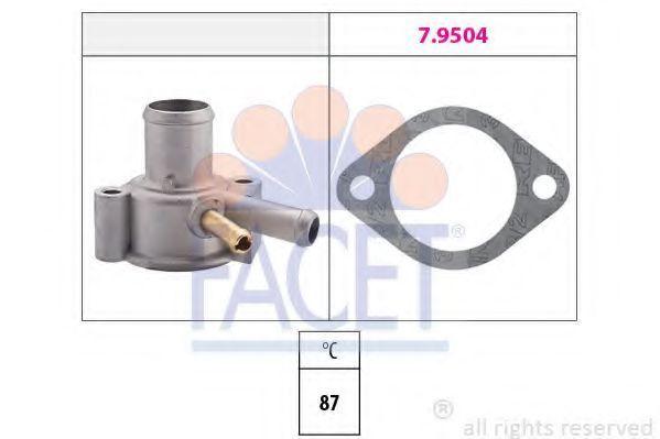 Термостат, охлаждающая жидкость FACET 78110