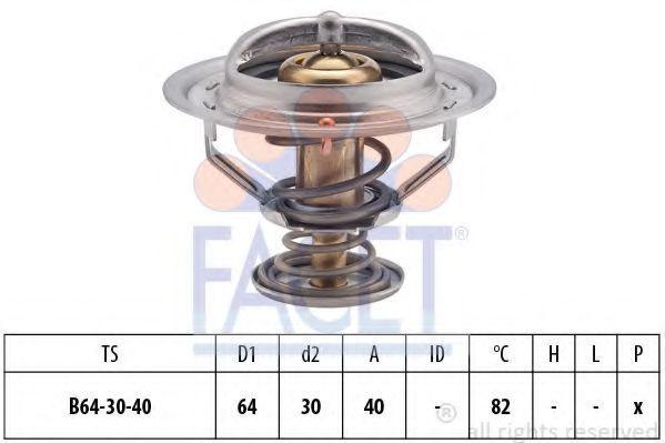 Термостат, охлаждающая жидкость FACET 78370S