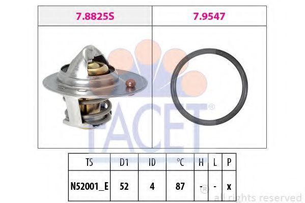 Термостат FACET 78825