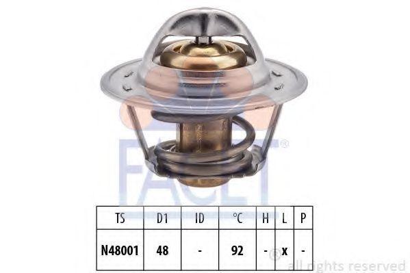 Термостат с прокладкой FACET 78207S