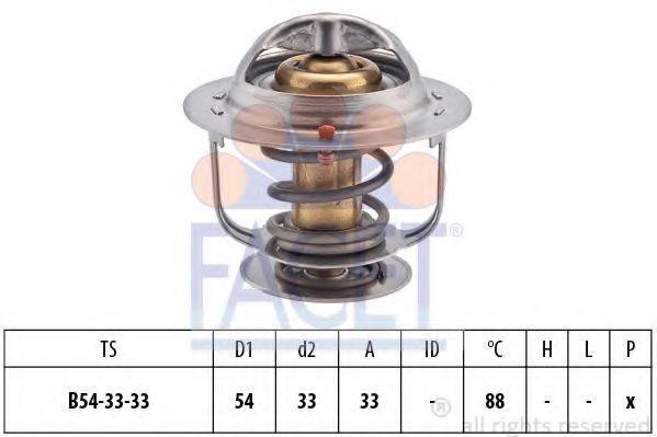 Термостат, охлаждающая жидкость FACET 78414S