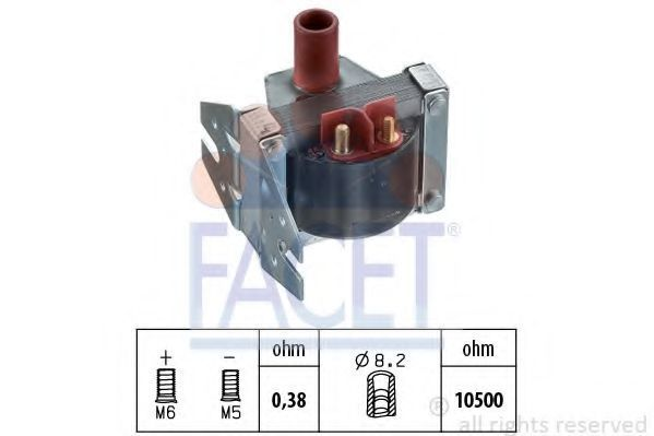 Коммутатор системы зажигания FACET 96078