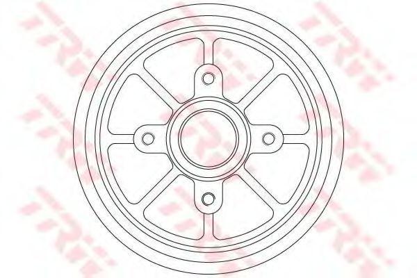 Барабан тормозной TRW DB4310MR