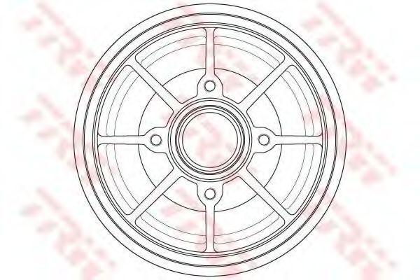 Тормозной барабан TRW DB4546MR