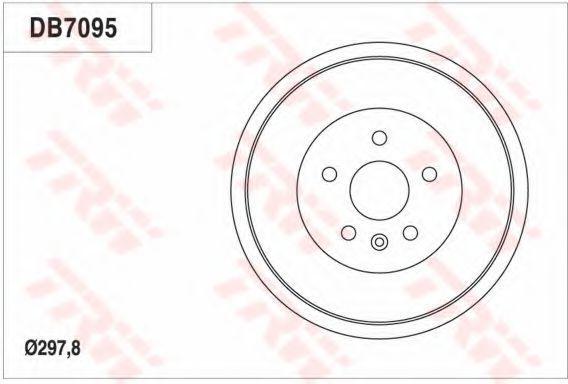 Тормозной барабан TRW DB7095