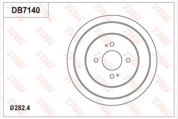 Тормозной барабан TRW DB7140