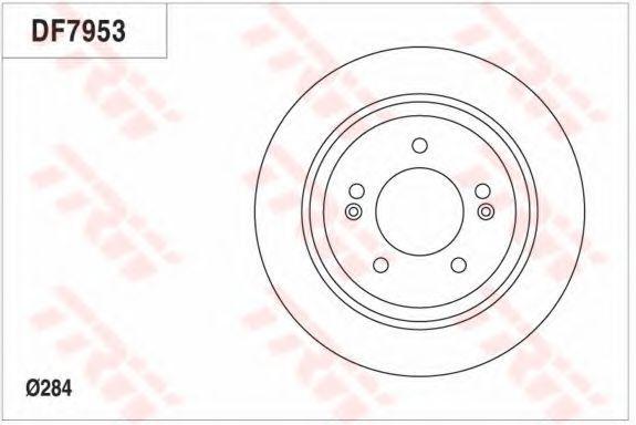 Диск тормозной TRW DF7953