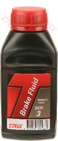 Тормозная жидкость DOT3 250мл TRW PFB325