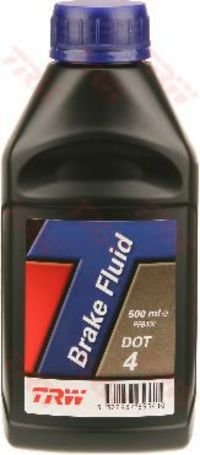 Тормозная жидкость DOT 4 500мл TRW PFB450