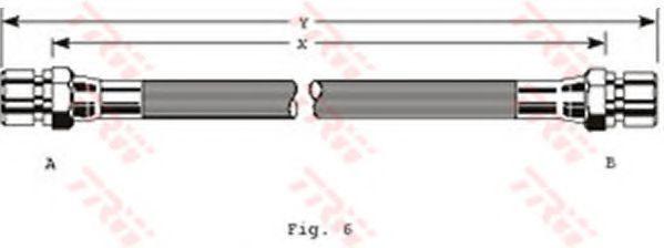 Шланг тормозной TRW PHA 229