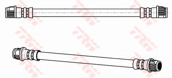 Шланг тормозной TRW PHA304