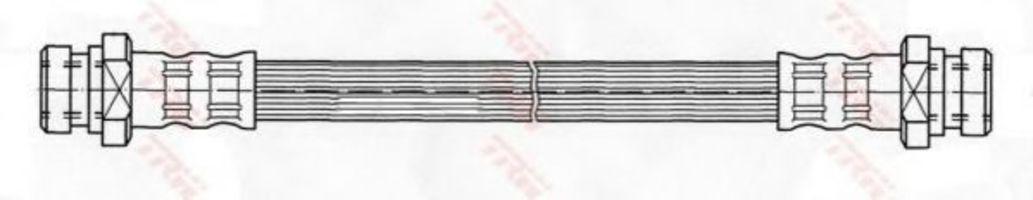 Шланг тормозной TRW PHA362