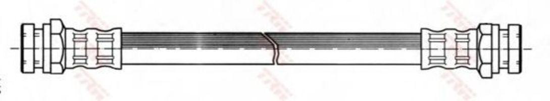 Шланг тормозной TRW PHA377