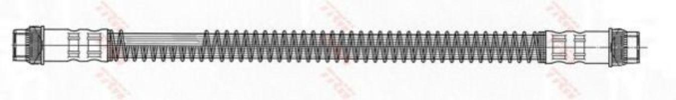 Шланг тормозной TRW PHA 410