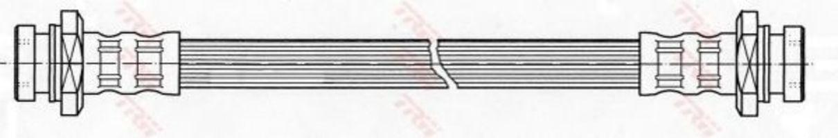 Шланг тормозной TRW PHA420