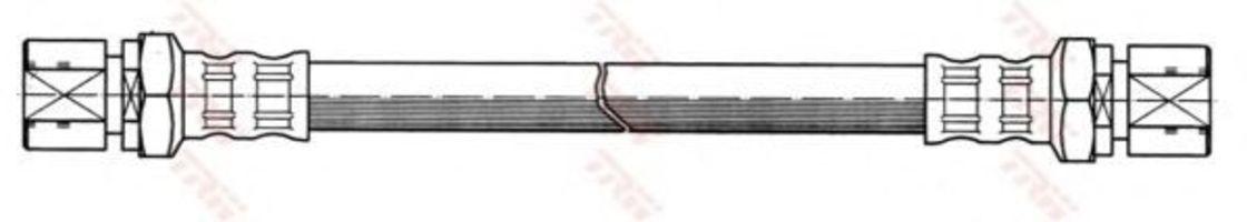 Шланг тормозной TRW PHA430