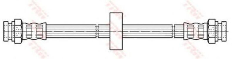 Шланг тормозной TRW PHA 435