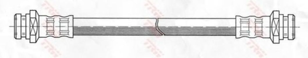 Шланг тормозной TRW PHA 438