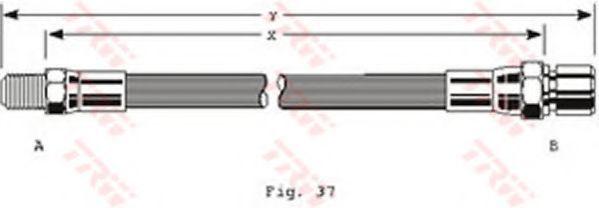 Шланг тормозной TRW PHB152