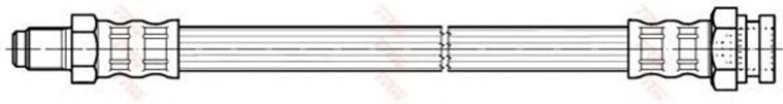 Шланг тормозной TRW PHB166