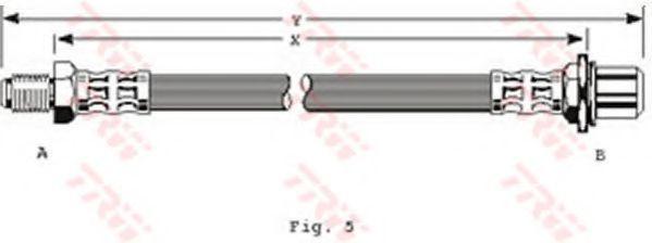 Шланг тормозной TRW PHB181