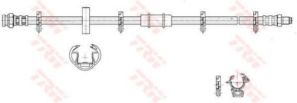 Шланг тормозной TRW PHB 183
