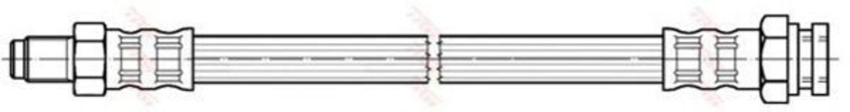 Шланг тормозной TRW PHB 240