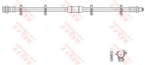 Шланг тормозной TRW PHB 273