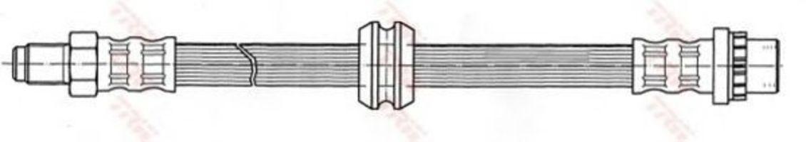 Шланг тормозной TRW PHB 402