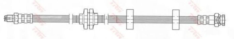 Шланг тормозной TRW PHB409