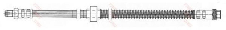 Шланг тормозной TRW PHB 412