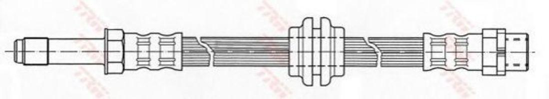 Шланг тормозной TRW PHB426