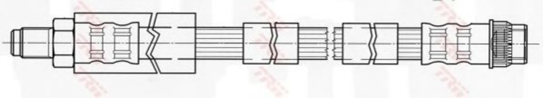 Шланг тормозной TRW PHB431