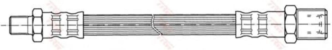 Шланг тормозной TRW PHB436