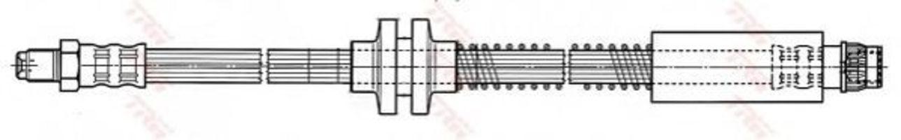 Шланг тормозной TRW PHB444