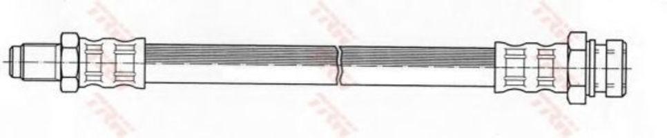 Шланг тормозной TRW PHB 453