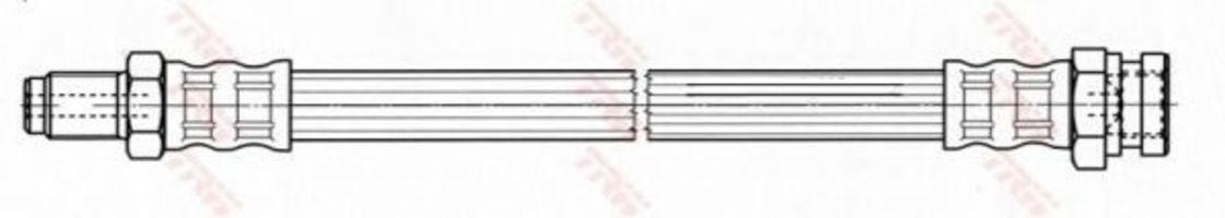 Шланг тормозной TRW PHB454