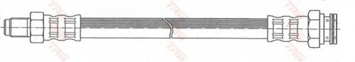 Тормозной шланг TRW PHB455