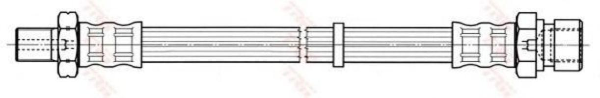 Тормозной шланг TRW PHB752