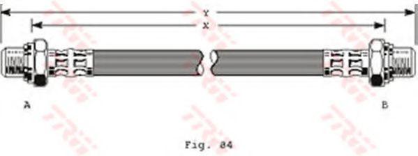 Тормозной шланг TRW PHC237