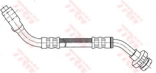 Шланг тормозной TRW PHC274