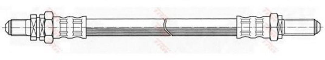 Шланг тормозной TRW PHC278