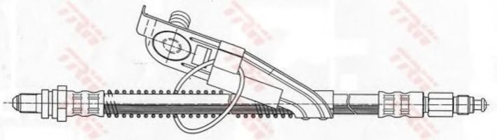 Шланг тормозной TRW PHC291
