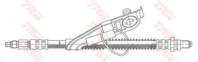 Шланг тормозной TRW PHC292