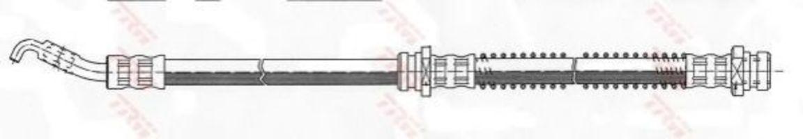 Шланг тормозной TRW PHD358