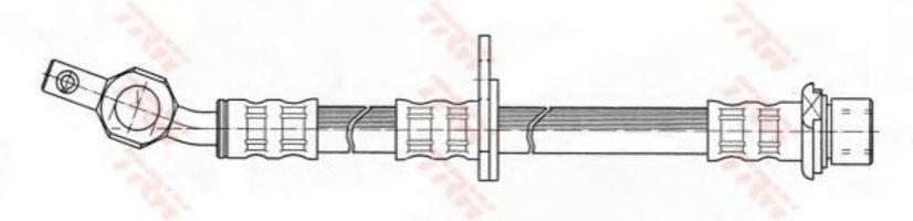 Шланг тормозной TRW PHD 374