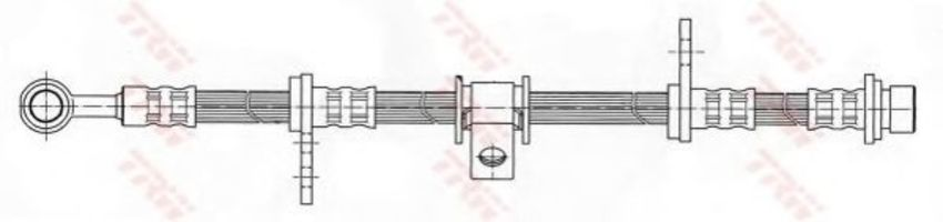 Тормозной шланг TRW PHD404