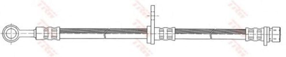 Шланг тормозной TRW PHD410