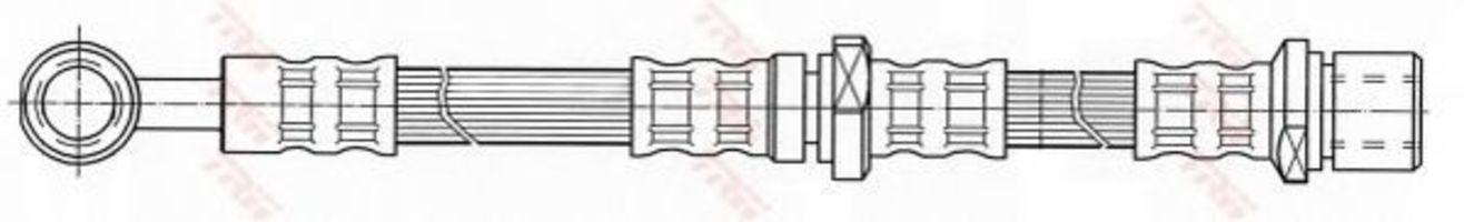Шланг тормозной TRW PHD436